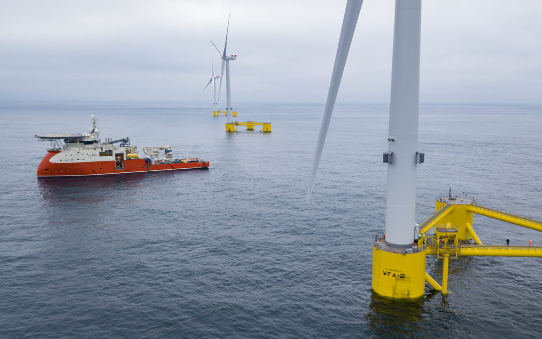 Rovco wins floating wind survey contract for Blue Gem Wind's Celtic Sea Erebus project